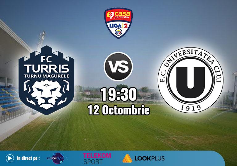 Turris U Cluj Liga 2 ,  2020