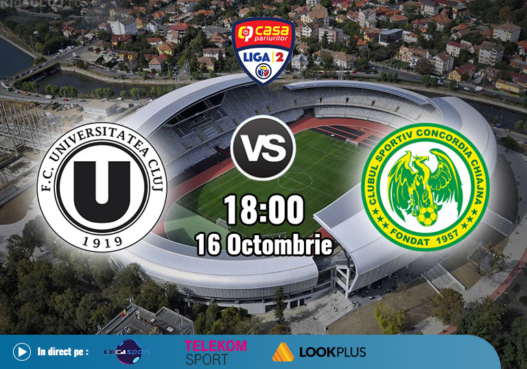 U Cluj Concordia , Liga 2 , 2020