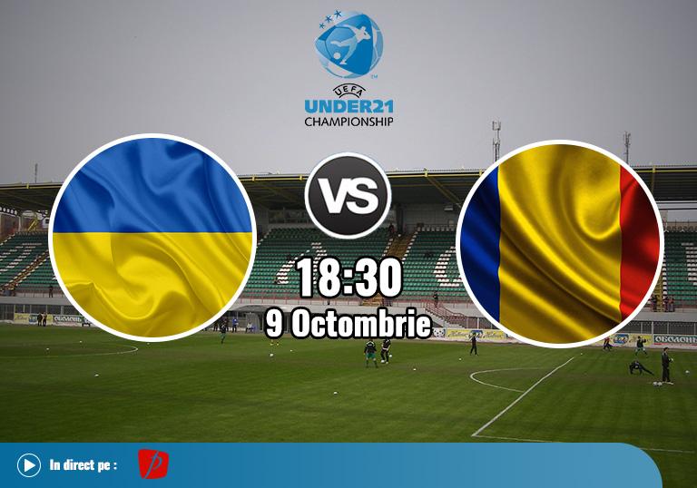 Ucraina Romania Tineret , Calificari Euro 2021 , 2020