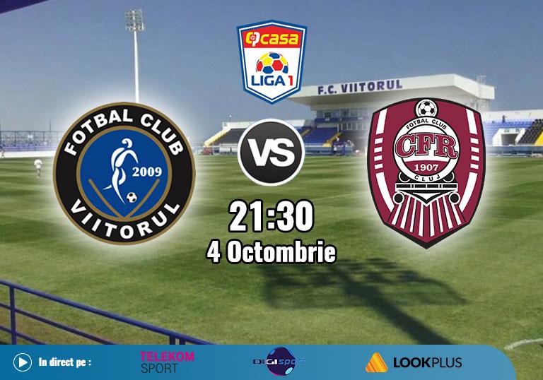 Viitorul CFR Cluj , Liga 1, 2020