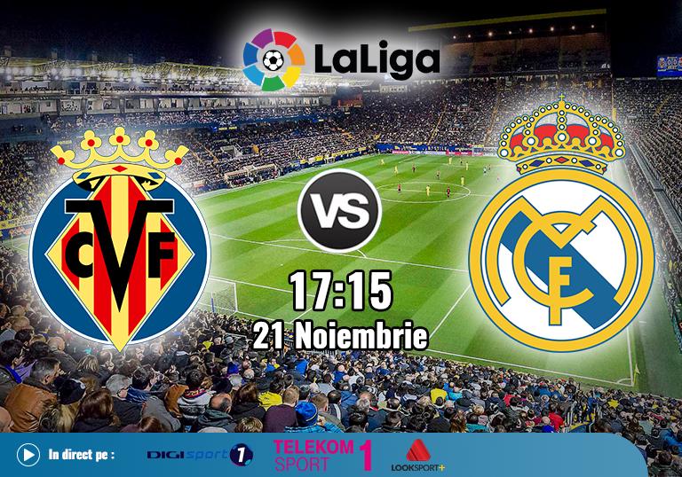 Villarreal Real Madrid , La Liga , 2020