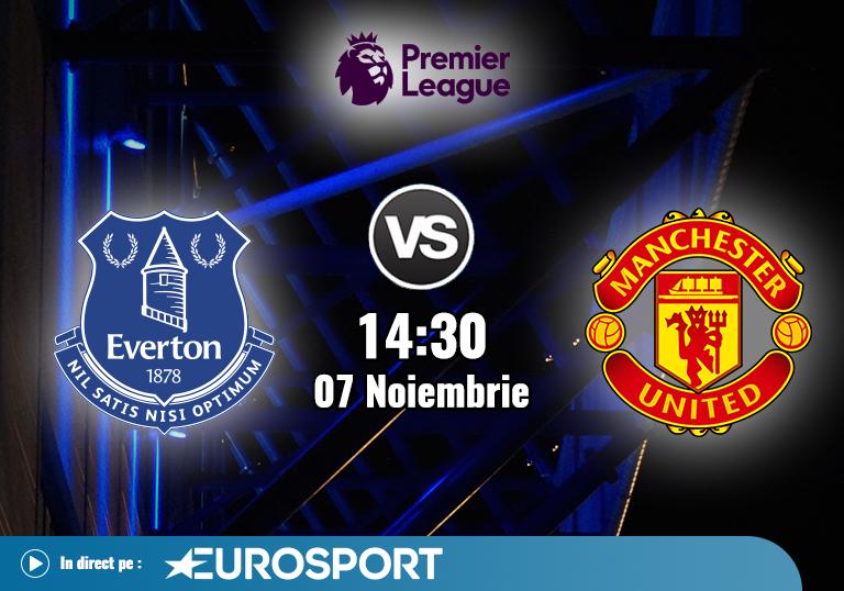 Everton Manchester United , Premier League , 2020