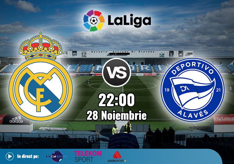 Real Madrid Alaves , La Liga , 2020