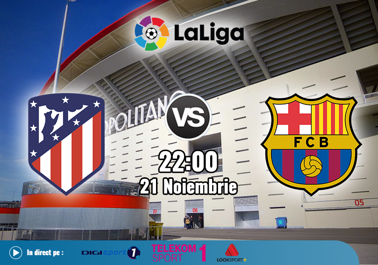 Atletico Barcelona , La Liga , 2020