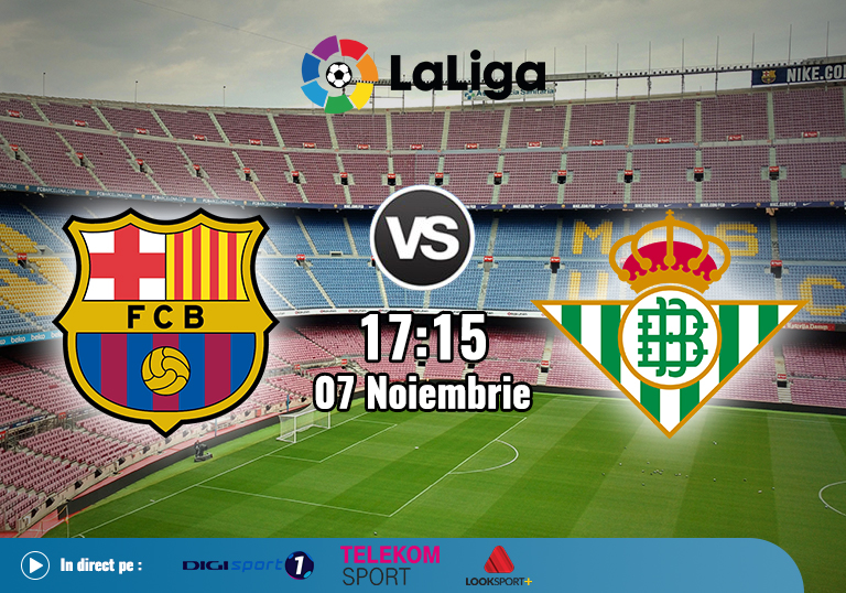 Barcelona Betis , La Liga , 2020