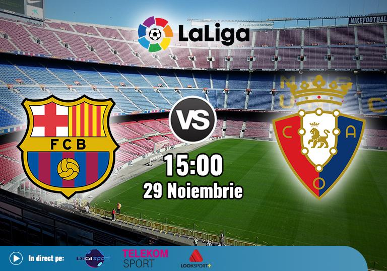 Barcelona Osasuna , La Liga , 2020