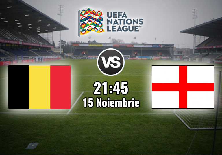 Belgia Anglia , Liga Natiunilor , 2020