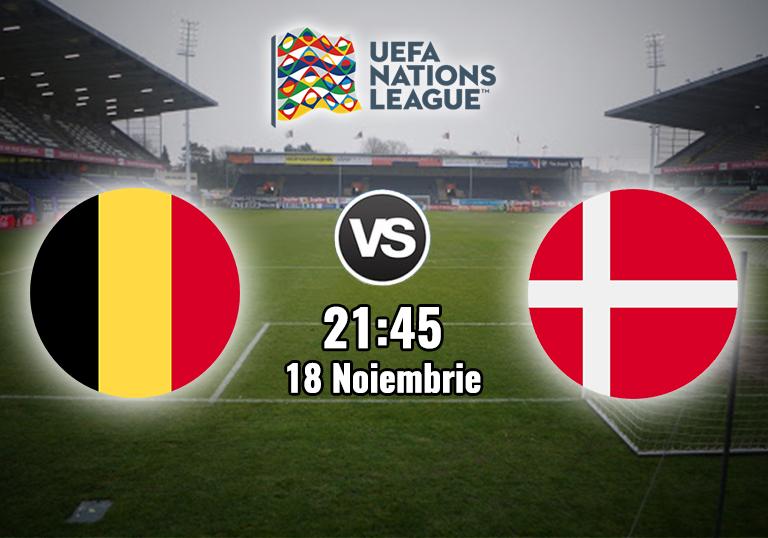 Belgia Danemarca , Liga Natiunilor , 2020