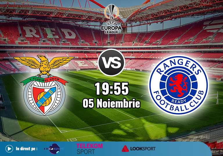 Benfica Rangers , Europa League , 2020