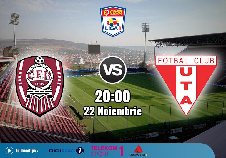 CFR Cluj UTA , Liga 1 , 2020
