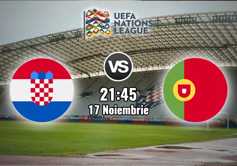 Croatia Portugalia , Liga Natiunilor , 2020