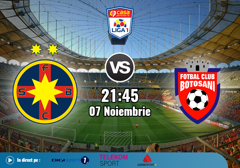 FCSB Botosani , Liga 1 , 2020