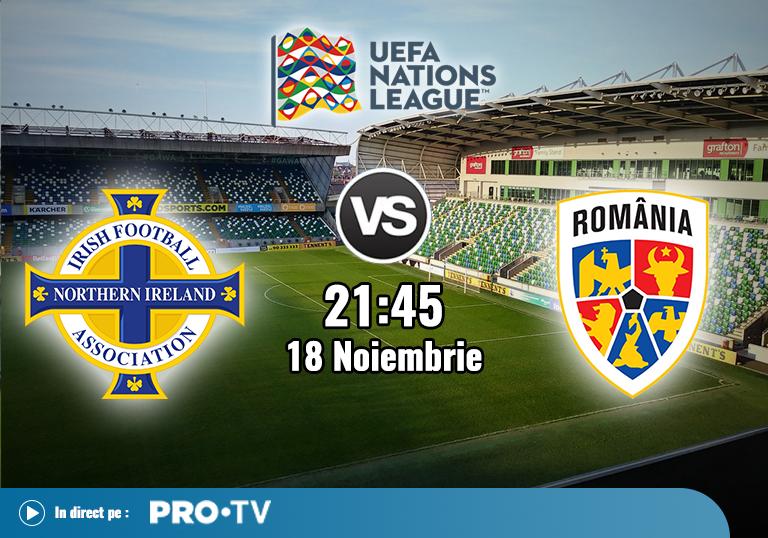 Irlanda de Nord Romania , Liga Natiunilor , 2020
