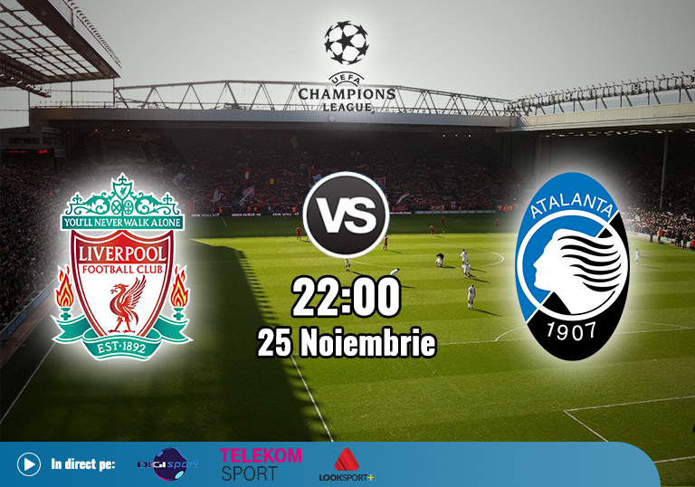Liverpool Atalanta , Liga Campionilor , 2020