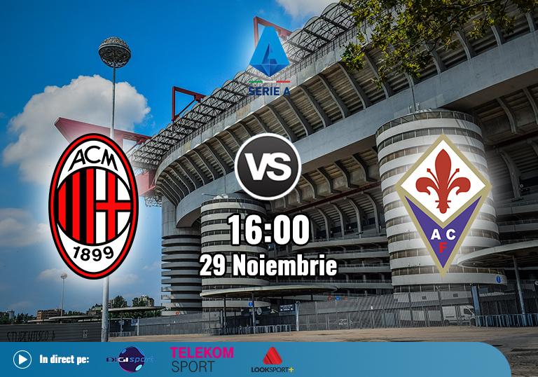 Milan Fiorentina , Serie A , 2020