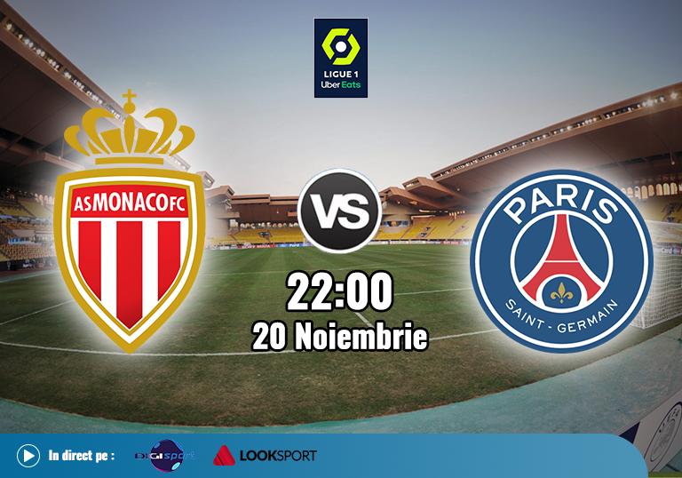 AS Monaco PSG , Ligue 1 , 2020