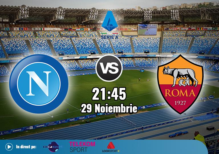 Napoli Roma , Serie A , 2020