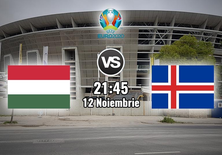 Ungaria Islanda , Baraj Euro 2020