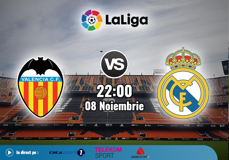 Valencia Real Madrid , La Liga , 2020
