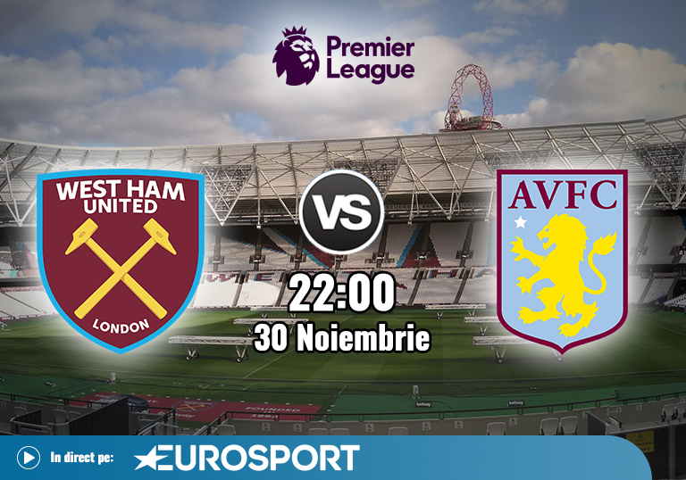 West Ham Aston Villa , Premier League , 2020