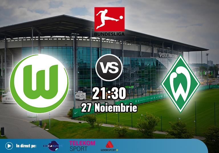 Wolfsburg Werder Bremen , Bundesliga , 2020