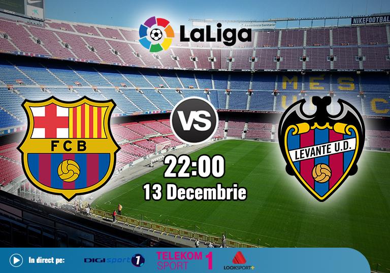 Barcelona vs Levante , La Liga , 13.12.2020