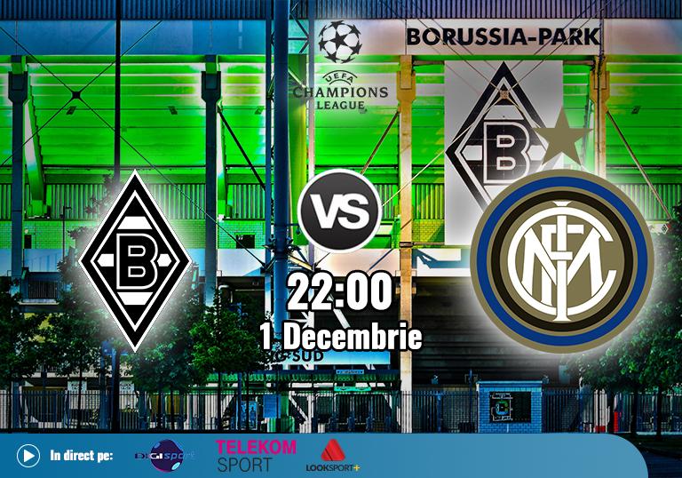 Gladbach Inter , Liga Campionilor , 2020