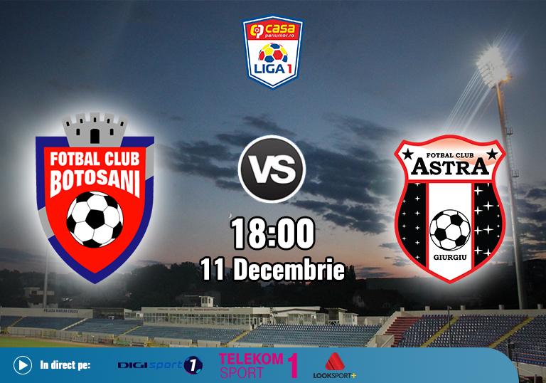 FC Botosani Astra Giurgiu , Liga 1 , 11.12.2020