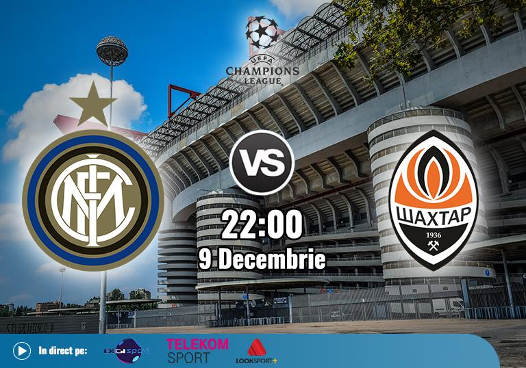 Inter Shakhtar , Liga Campionilor , 2020