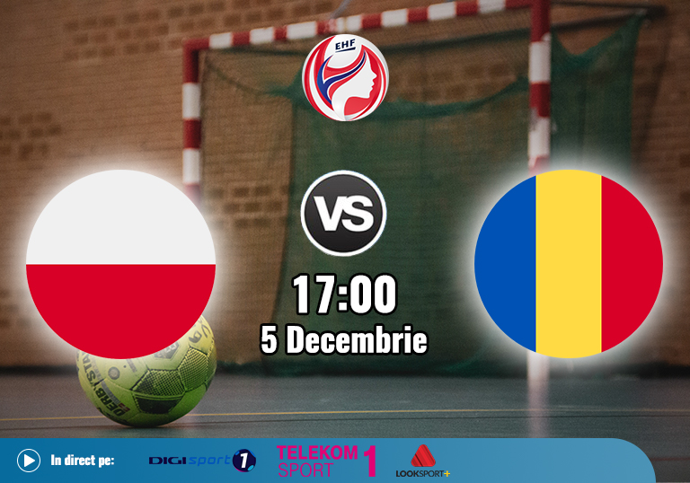 Romania Polonia , Handbal Euro 2020