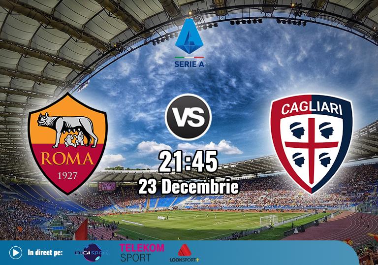 AS Roma Cagliari , Serie A , 2020