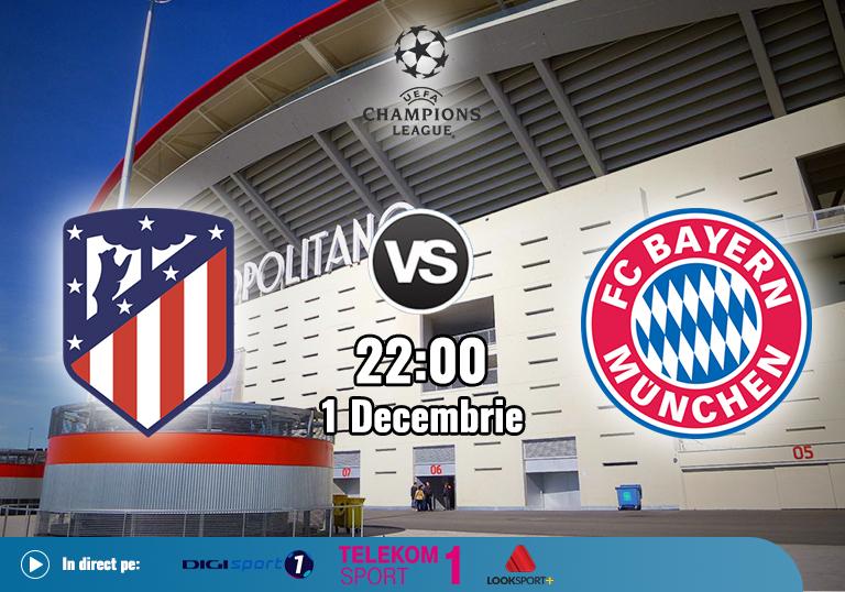 Atletico Bayern , Liga Campionilor , 2020