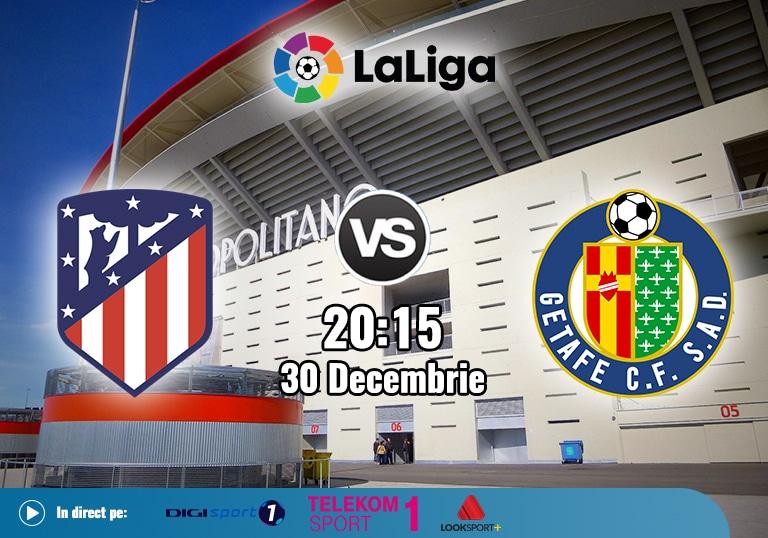 Atletico Madrid Getafe , La Liga , 2020