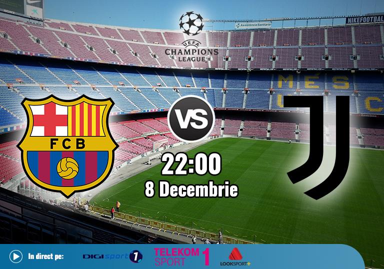 Barcelona Juventus , Liga Campionilor , 2020