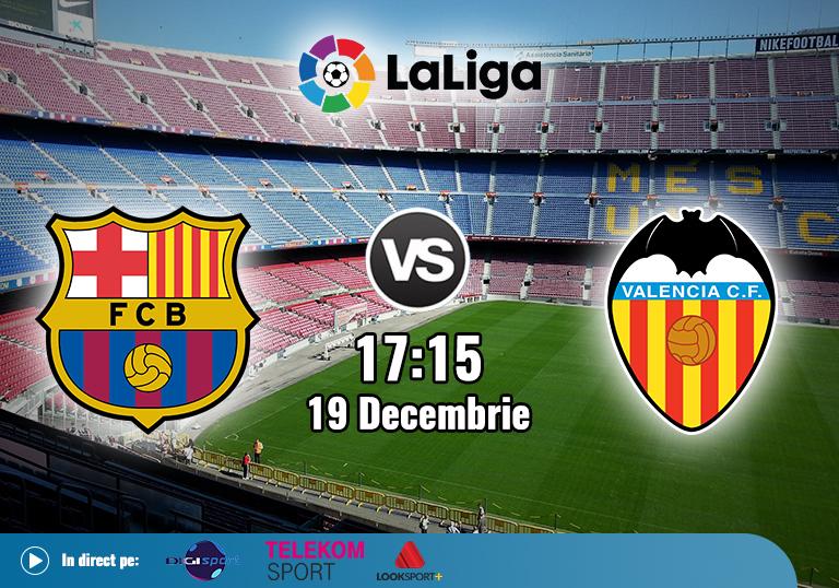 Barcelona vs Valencia , La Liga , 2020