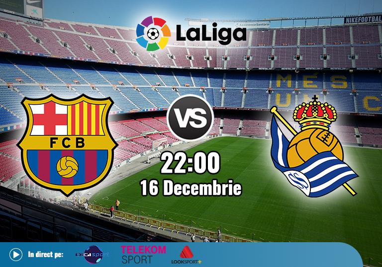 Barcelona Real Sociedad , La Liga , 2020