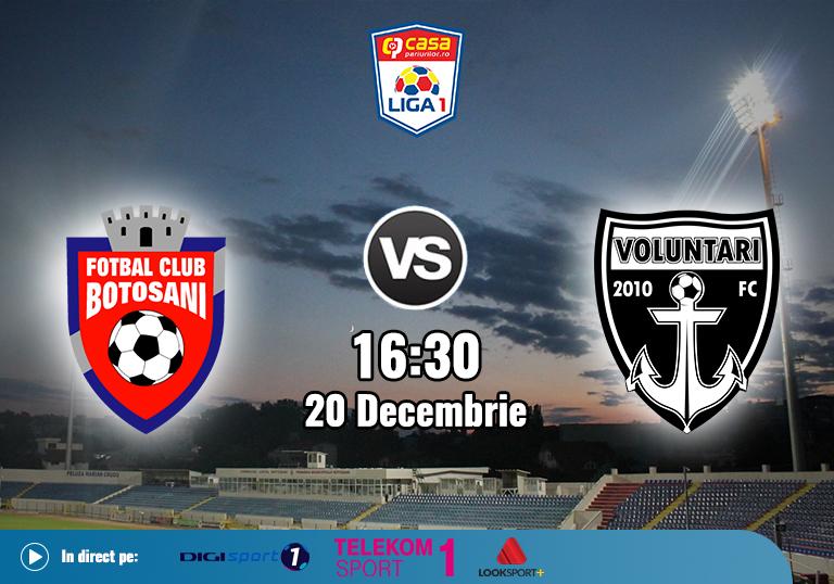 Botosani FC Voluntari , Liga 1, 2020