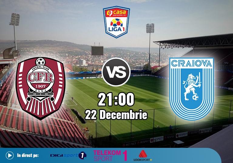 CFR Cluj U Craiova , Liga 1 , 2020