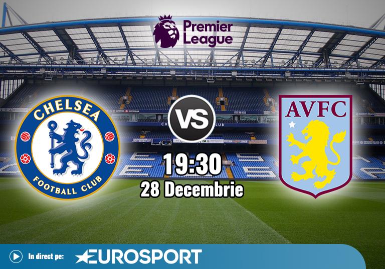 Chelsea Aston Villa , Premier League , 2020