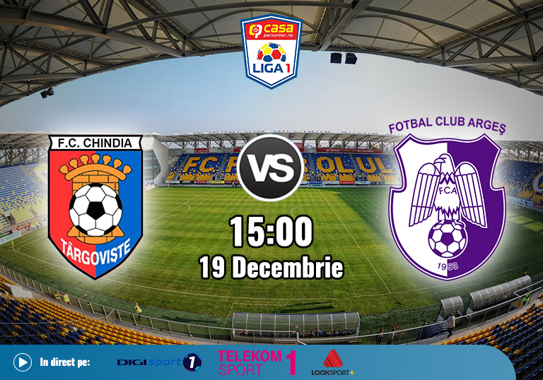 Chindia FC Arges , Liga 1 , 19.12.2020
