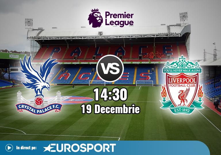 Crystal Palace Liverpool , Premier League , 19.12.2020