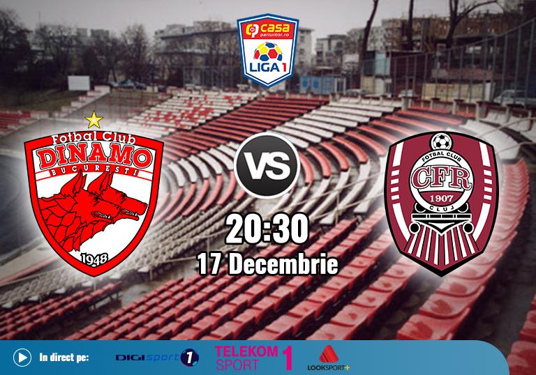 Dinamo CFR Cluj , Liga 1 , 2020