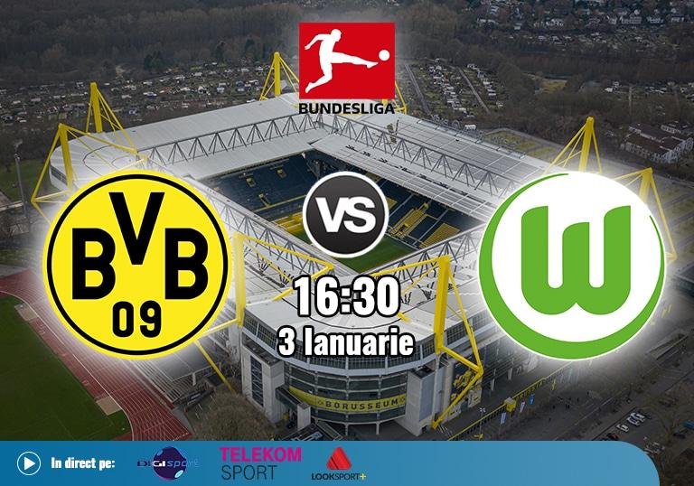 Borussia Dortmund Wolfsburg , Bundesliga , 2021