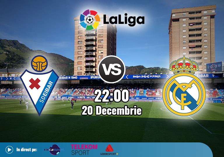 Eibar Real Madrid , La Liga , 2020