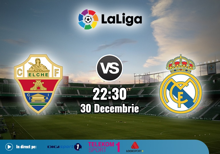 Elche Real Madrid , La Liga , 2020