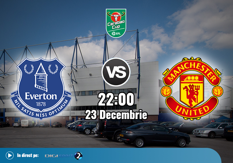 Everton Man United , EFL Cup , 23.12.2020