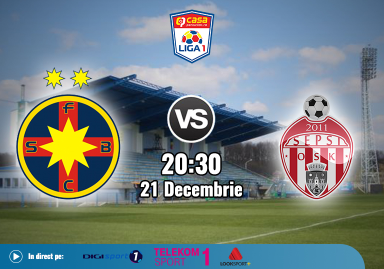 FCSB Sepsi , Liga 1 , 2020