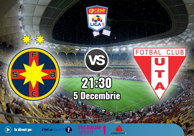 FCSB UTA , Liga 1 , 2020