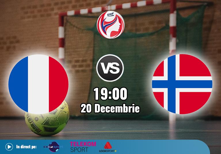 Franta Norvegia, Finala Euro 2020 EHF