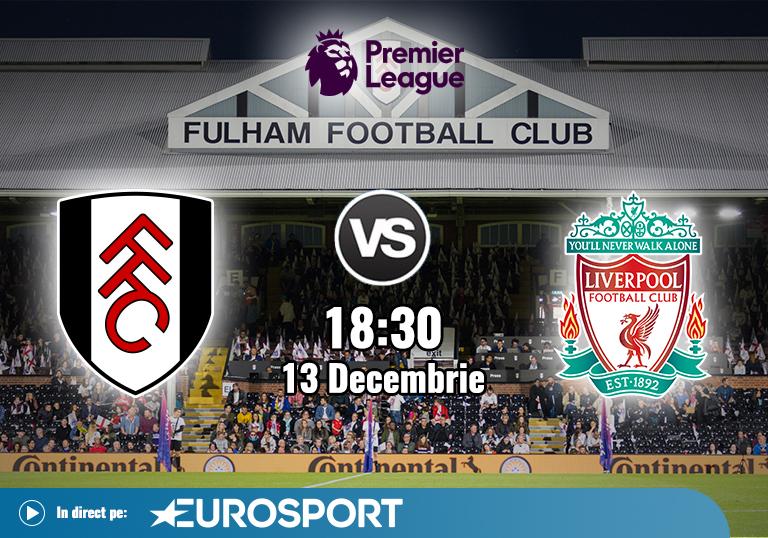 Fulham Liverpool , Premier League , 13.12.2020